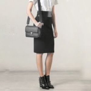 Marc by Marc Jacobs Top Schooly preppy crossbody grey leather bag